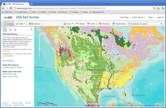 Publish your custom applications via arcgis online arcwatch Create a map online free