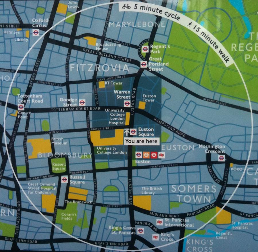 Barclay Bike Map Esri ArcWatch March 2011   Visualizing Bike Journeys in London
