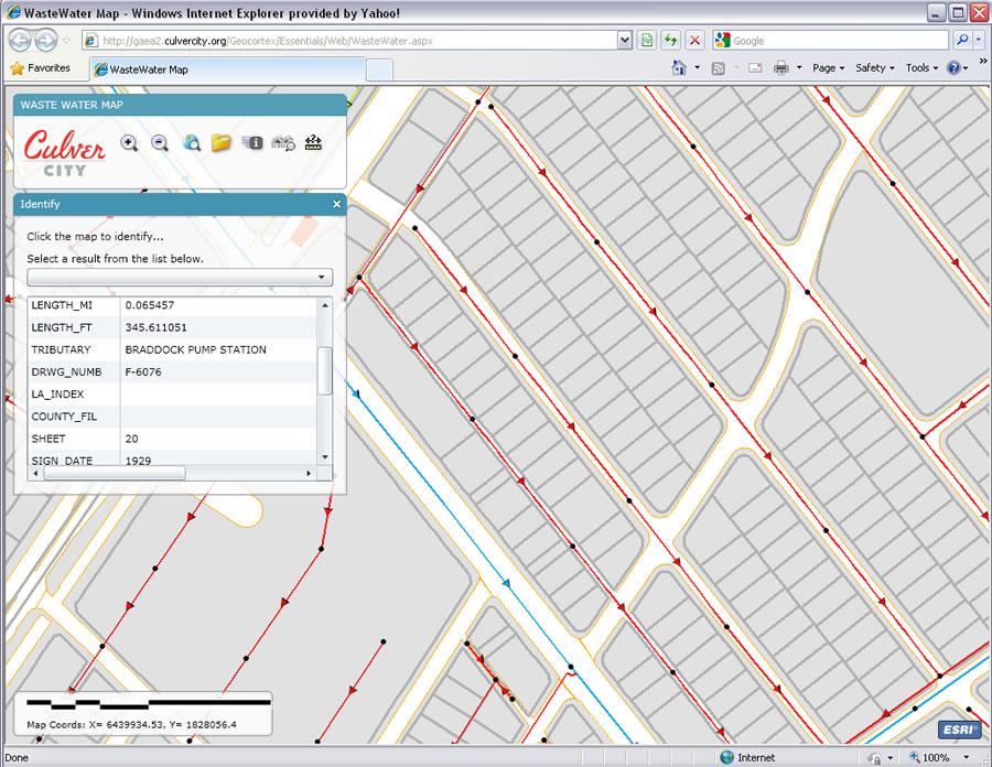 Esri ArcWatch July 2010 GIS Puts Culver City Sewer Maps in Their