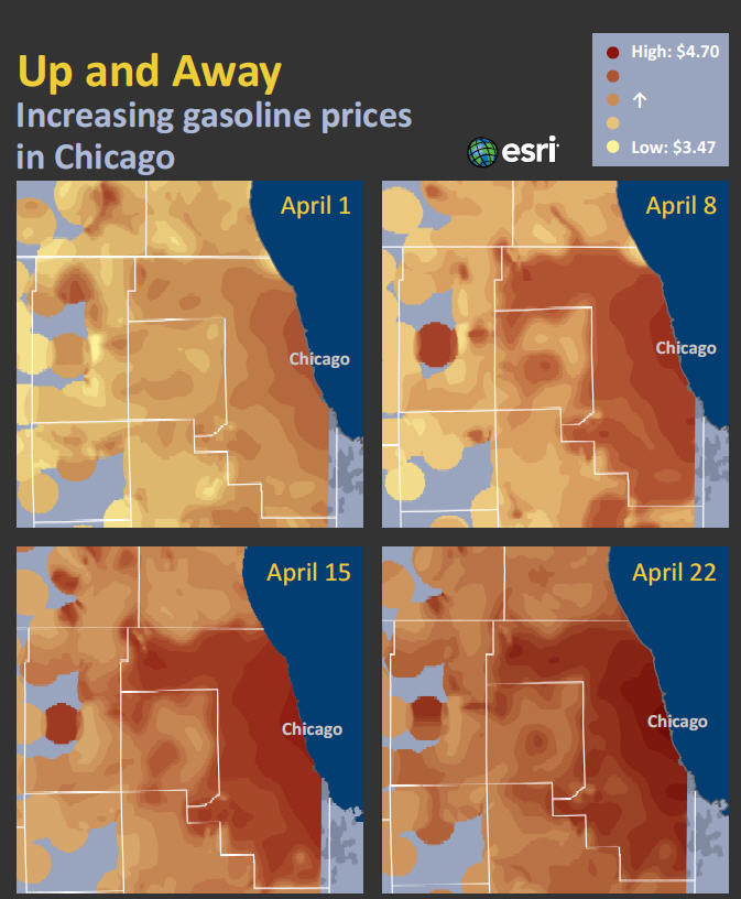 Cook County Gas Prices - m