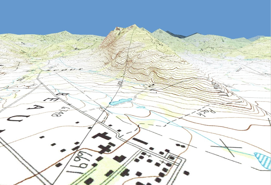 Philmont New Mexico Map.Esri Arcwatch July 2011 The Boy Scouts Of America Receive A