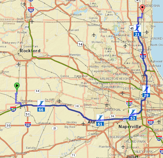 Geospatial Technology Saves Commuters Time And Money On The - Us tollway map