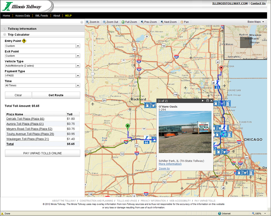 Geospatial Technology Saves Commuters Time and Money on the Illinois ...