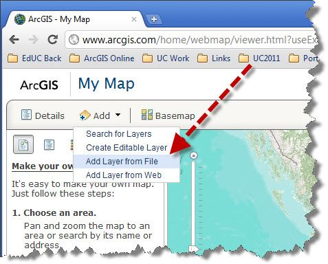 arcgis how to add a drop shadow