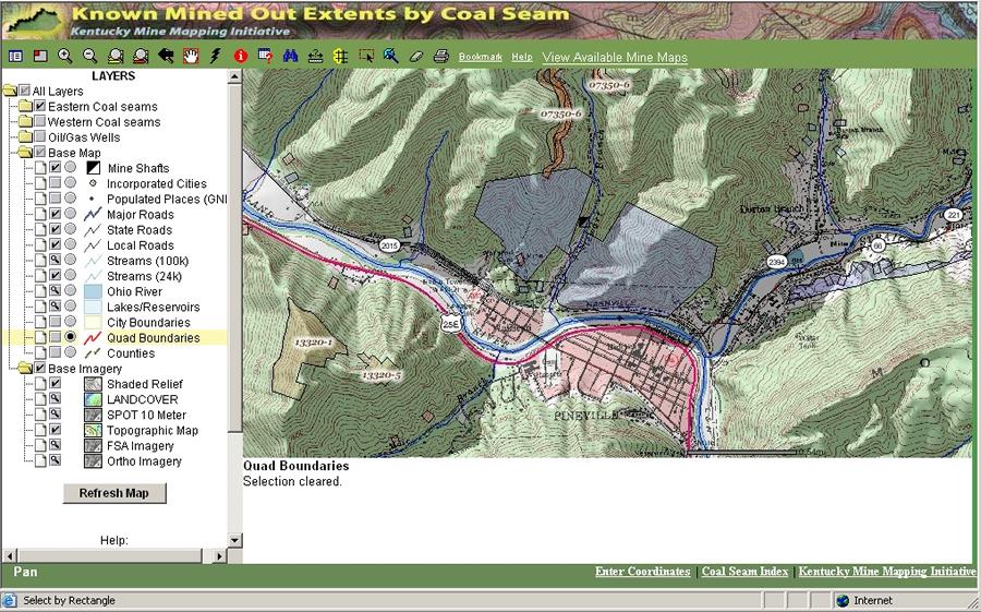 Esri ArcWatch October 2007 - Esri Helps Kentucky Deliver Maps of ...