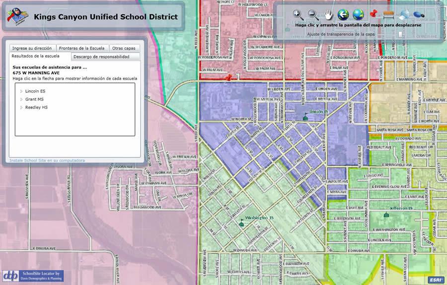 School assignment locator