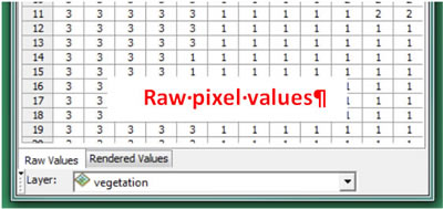 Explore Raster Data Using the Pixel Inspector   ArcWatch