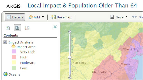 Learn To Use Hidden Layers For Web Map PopUp Windows ArcWatch - Map layers for us arcgis