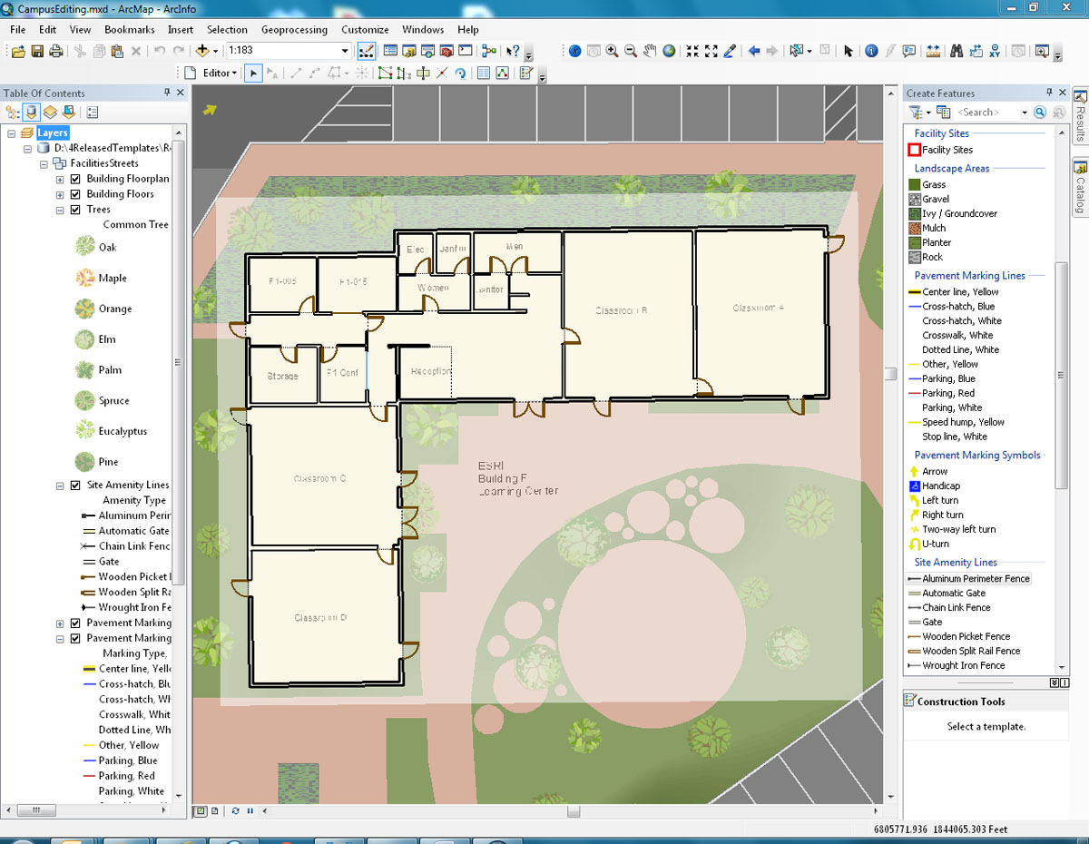 Esri 39 s arcgis online provides fm resources Edit floor plans online