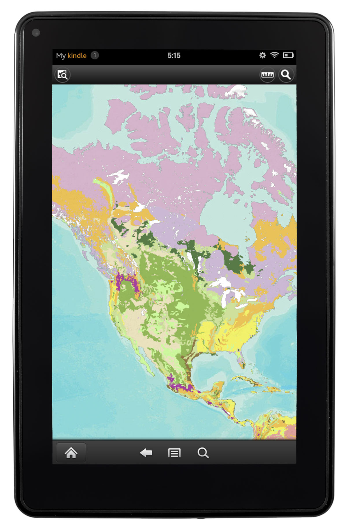 access and edit esri maps on kindle fire