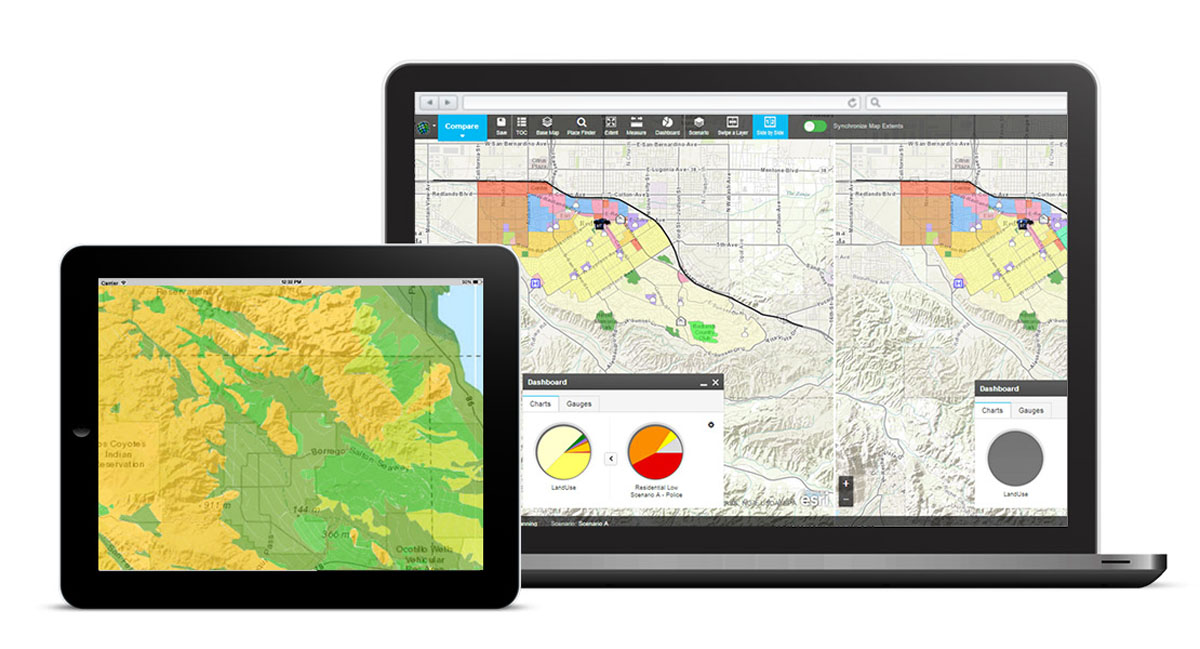 Create, analyze, and report on alternative planning scenarios using the new GeoPlanner for ArcGIS app.