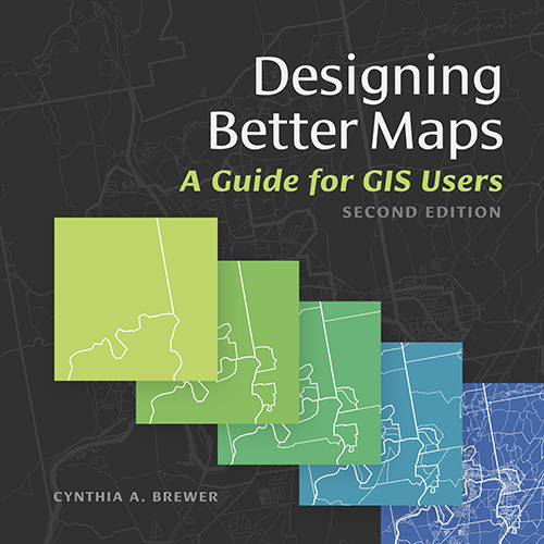 This book will guide mapmakers through the process of designing visually pleasing and easily understandable maps.