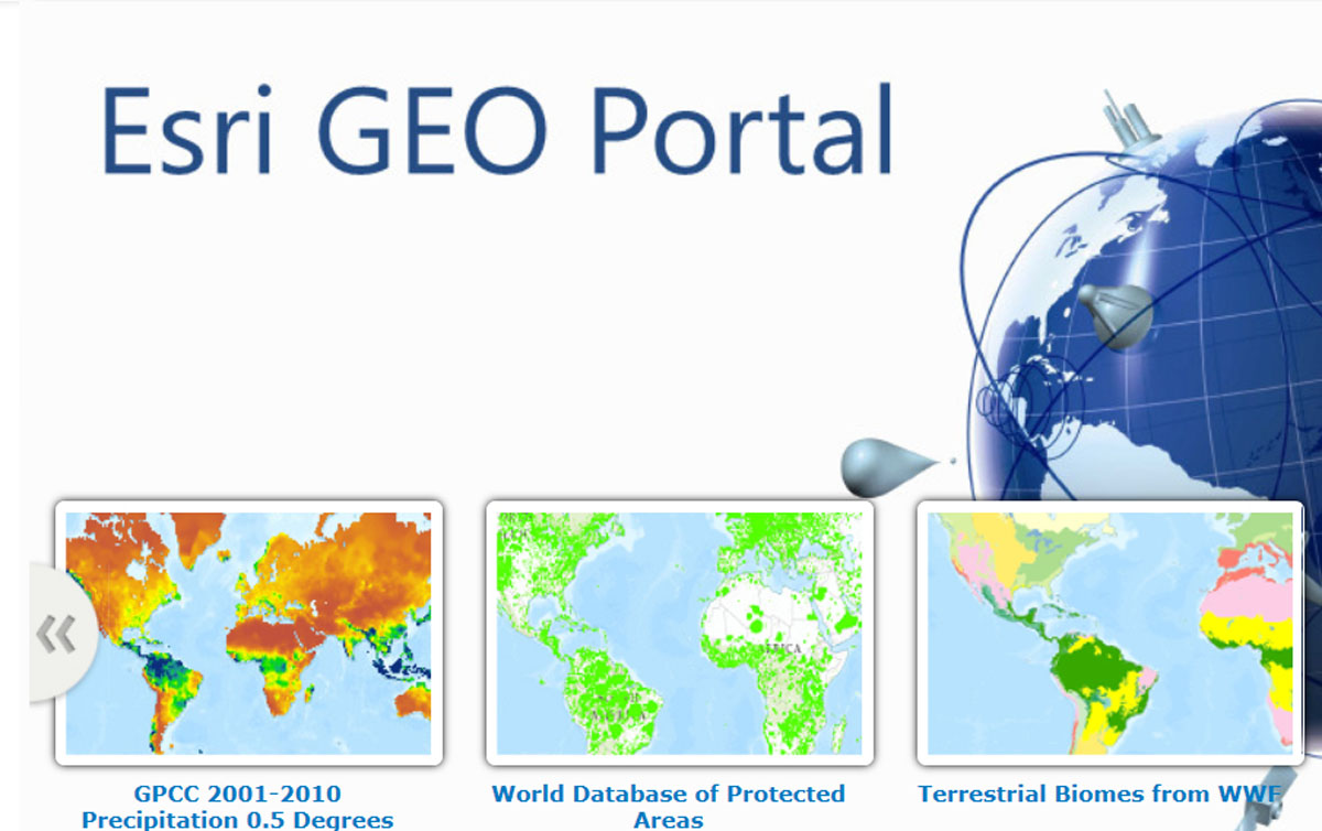 The Esri GEO Portal data bridge connects disciplines.
