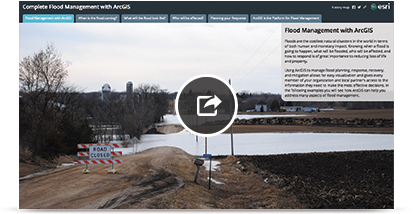 Complete Flood Management with ArcGIS