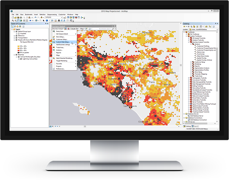 Esri Business Analyst for Desktop