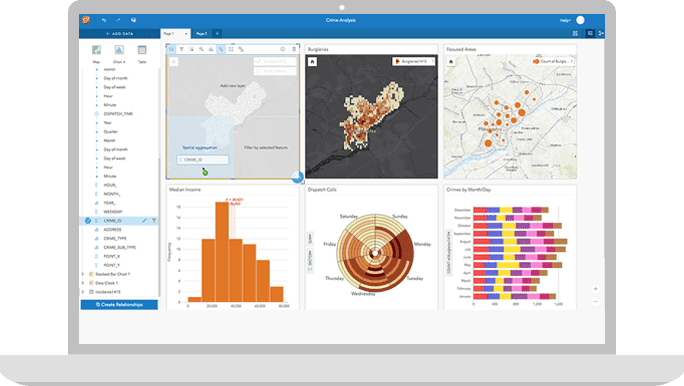 Explore Insights for ArcGIS in ArcGIS Online