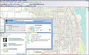 Share maps you authored in ArcGIS for Desktop.
