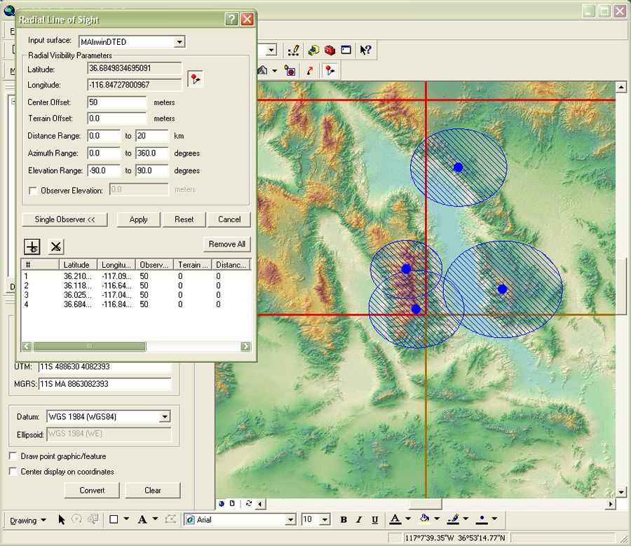 ArcGIS Defense Solutions | ArcGIS Military Analyst Tools