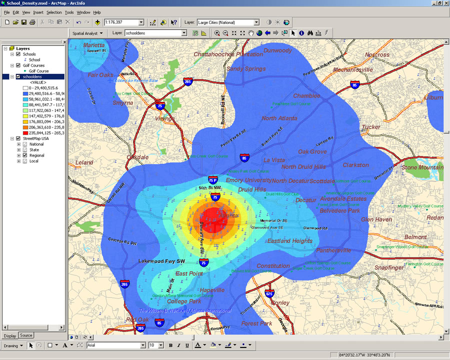 spatial analysis Base r includes many functions that can be used for reading, visualising, and analysing spatial data the focus in this view is on geographical spatial data, where observations can be identified with geographical locations, and where additional information about these locations may be retrieved if.