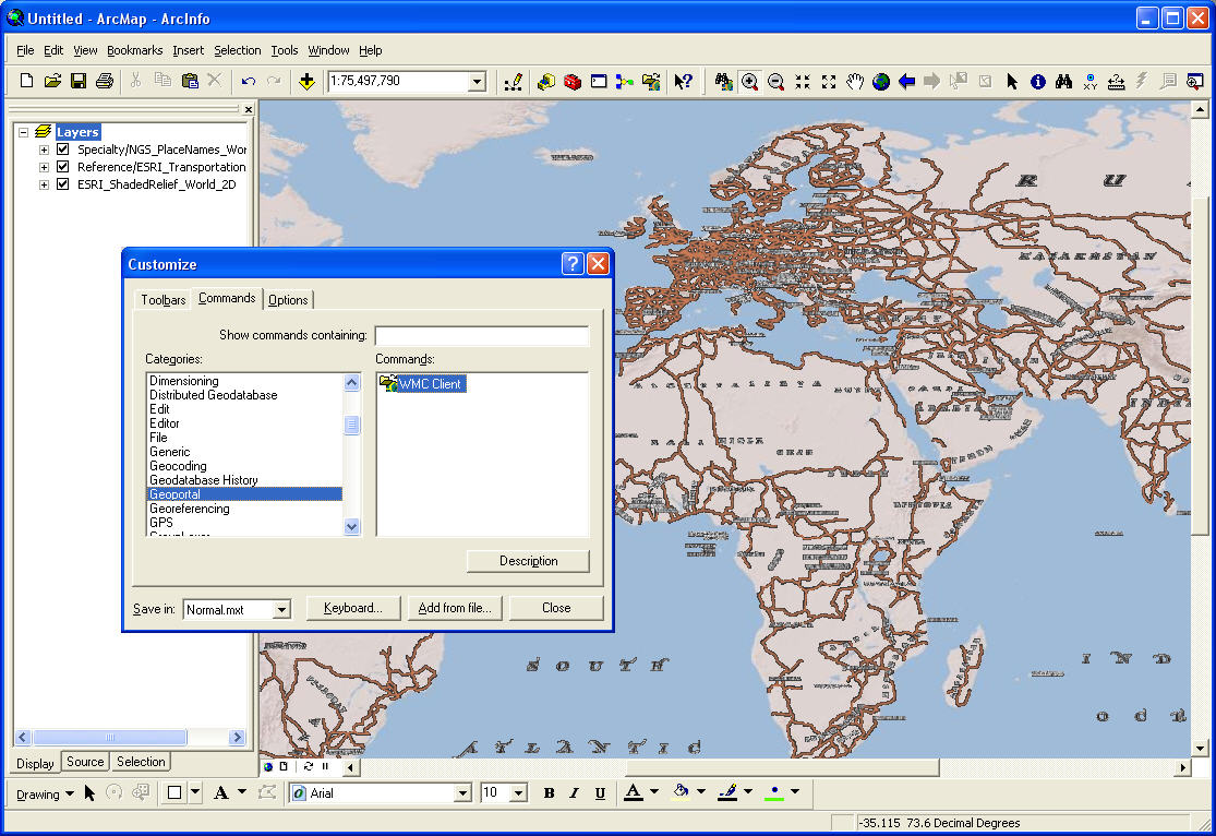 WMC Client for ArcGIS | Overview