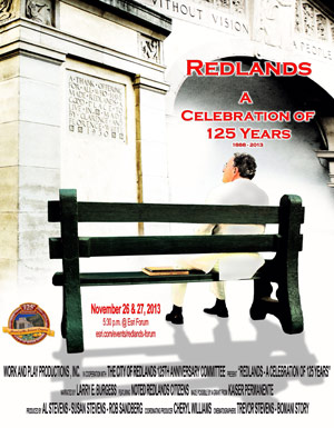 Redlands 125th Anniversary Film Poster