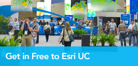 Get in Free to Esri UC