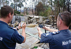 Mobile GIS Aids Victoria Bushfires Search Operations
