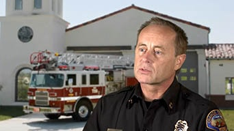 OC Fire Authority Fire Chief, Keith Richter, talks about how GIS helps fire fighters make faster decisions
