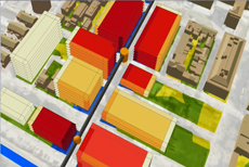 Sketching and Analyzing a Transit Oriented Development in 3D