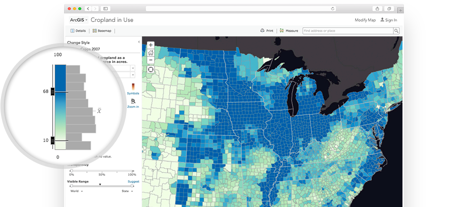 ArcGIS Online - Map layers for us arcgis
