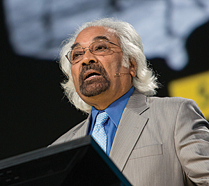 Sam Pitroda talks about India's National GIS platform.