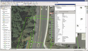 Pierce County Public Works Road Operations uses ArcGIS to manage the county's core assets. Drainage layers can be seen in the image along with attributes.