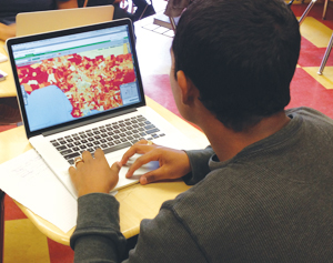 Using ArcGIS Online to teach STEM-related courses reinforces the scientific method.