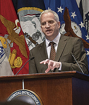 Robert Cardillo, director of the National Geospatial-Intelligence Agency, is overseeing the agency's expanding role in the US national security community.