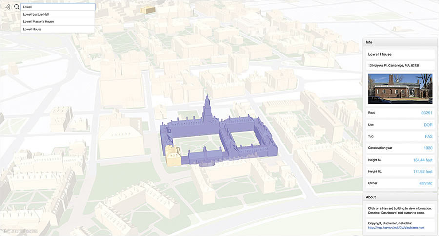 Harvard Integrates 3d Campus Maps With Arcgis Arcnews