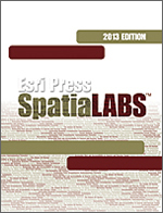 Esri Press SpatiaLABS DVD.