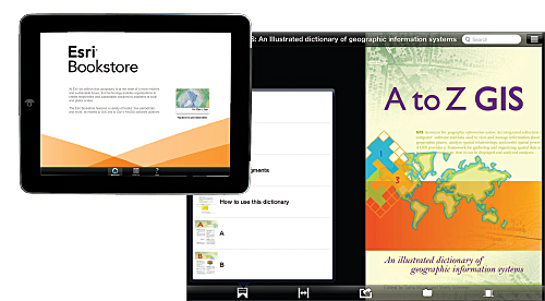 Esri Press e-books are available on the Esri Bookstore app or through online retailers.