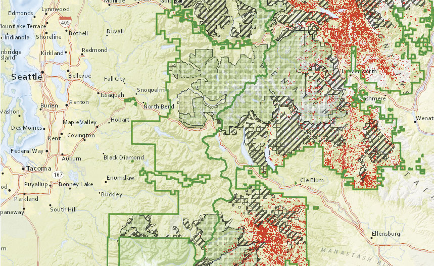 A Vital Tool For Forest Management ArcNews - Us forest service topo maps