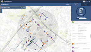 Street Wize lets Angelenos track permit and construction activity around the city.