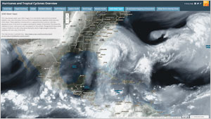 With the use of ArcGIS Online during Hurricane Matthew, the National Geospatial-Intelligence Agency (NGA) was able to widely distribute new information to those involved in the emergency response and recovery efforts.