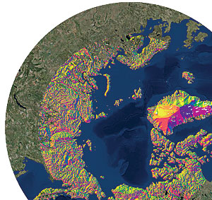 The ArcticDEM was a collaborative project to automatically produce high-resolution, high-quality, digital elevation models (DEMs) of the Arctic using optical stereo imagery.