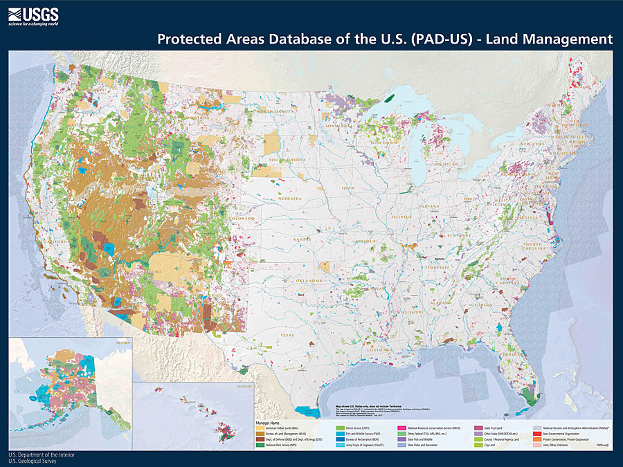Protected Areas of the United States