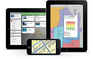 Access maps, search and visualize data, and brief stakeholders using the new Explorer for ArcGIS app.