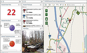 Supervisors now use an in-house dashboard in ArcGIS Online to monitor incoming data from the field.