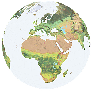 The Global Ecological Land Units map reveals geographic patterns and relationships using 250-meter resolution data, giving scientists, land planners, resource managers, conservationists, and the public new insights into the interrelated nature of our world.