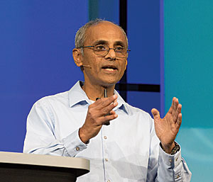 "Sud Menon, Esri's director of software development, called ArcGIS Enterprise 10.5 ""a really big release."""