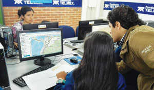 Students said that GIS is an easy tool for them to use and offers a different way to augment their knowledge of history and geography.