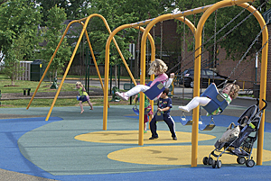 The study of play in Alexandria will improve access to healthy play and combat childhood obesity.