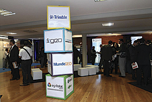 EXPO display at the 2012 Latin America User Conference in Buenos Aires, Argentina.