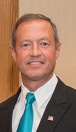Governor O'Malley at the NASPAA Annual Conference in Washington, DC. (Photo: MDGovpics.)